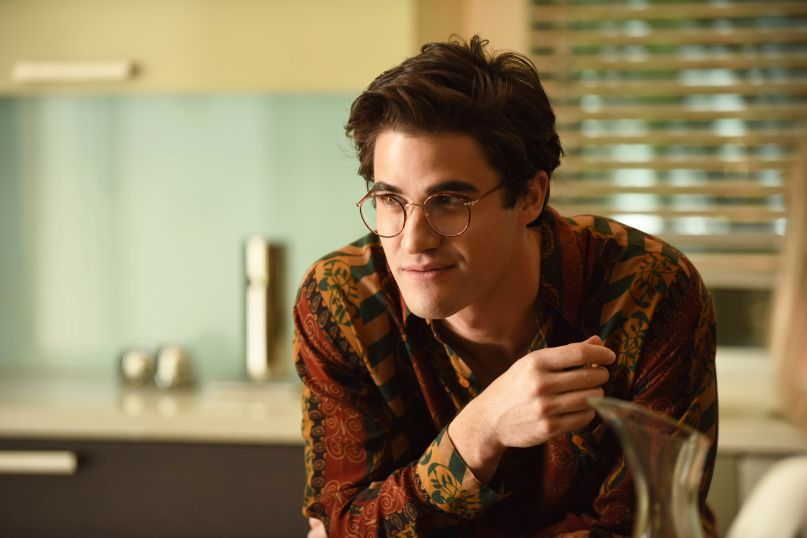 Darren Criss as Andrew Cunanan in 'The Assassination of Gianni Versace'