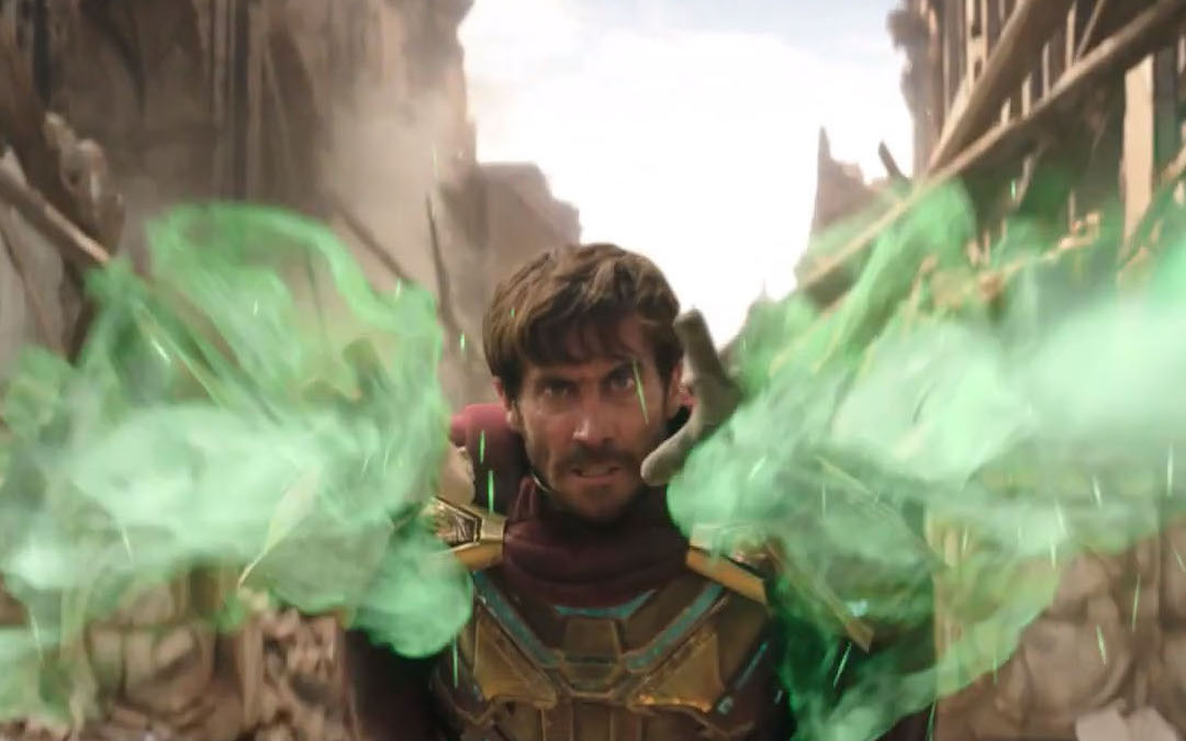 Jake Gyllenhaal as Mysterio in 'Spider-Man: Far From Home' (Credit: Sony/Marvel)