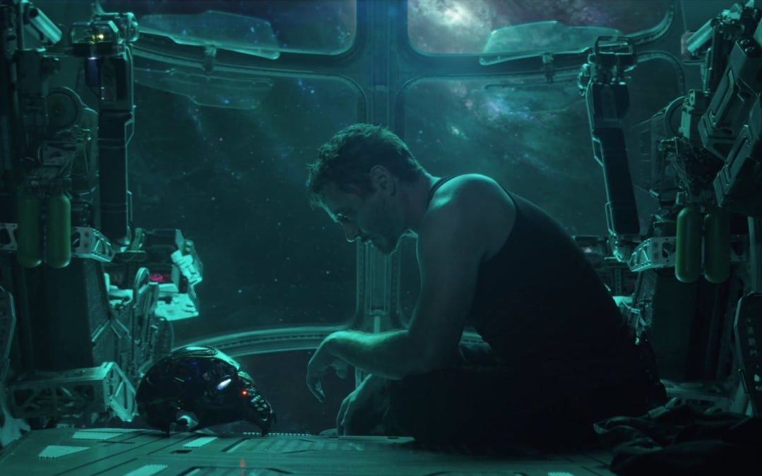 Robert Downey, Jr. as Tony Stark, the man who started it all, in 'Avengers: Endgame' (Credit: Marvel Studios)