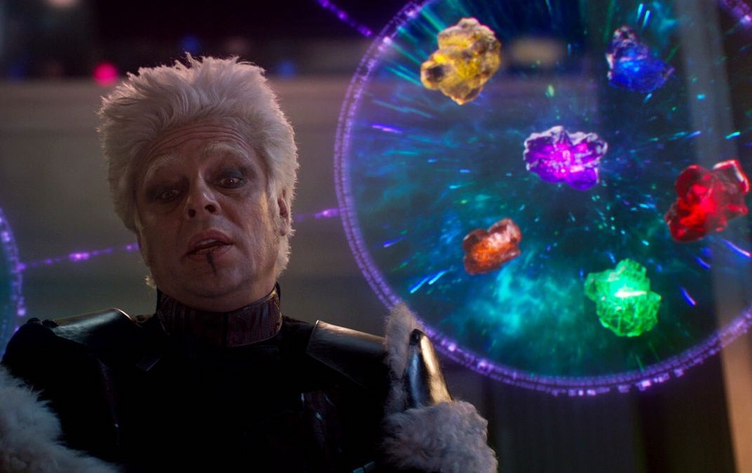 The Collector in 'Guardians of the Galaxy' (Courtesy: Marvel Studios)